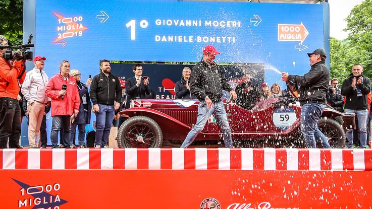 Alfa Romeo: doppietta alla Mille Miglia