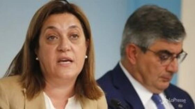 La governatrice dell'Umbria Marini conferma le dimissioni