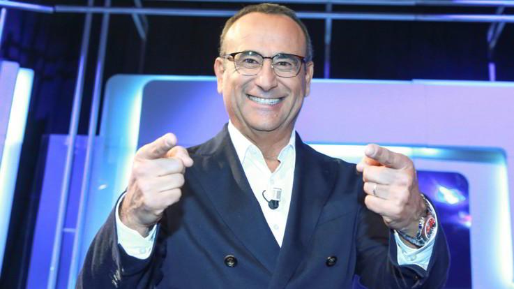 """Carlo Conti torna in Rai con 'Ieri e Oggi'. E su Sanremo: """"Direzione artistica? Rifiuterei"""""""