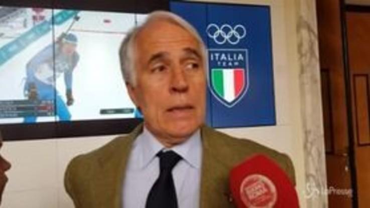 """Niki Lauda, Malagò: """"Onore a un grandissimo pilota"""""""