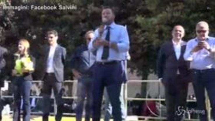 """Busta con proiettile, Salvini: """"Rispondo con il perdono come ci insegna Dio"""""""