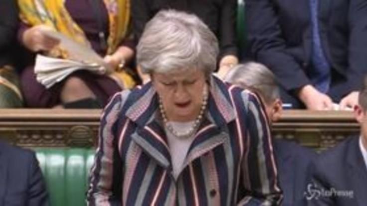Brexit, May apre a emendamento su secondo referendum