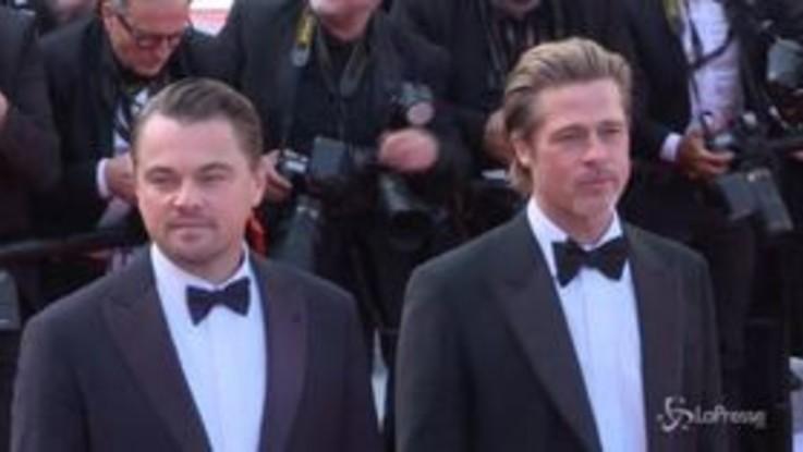 Cannes, Croisette in delirio per Pitt e e DiCaprio