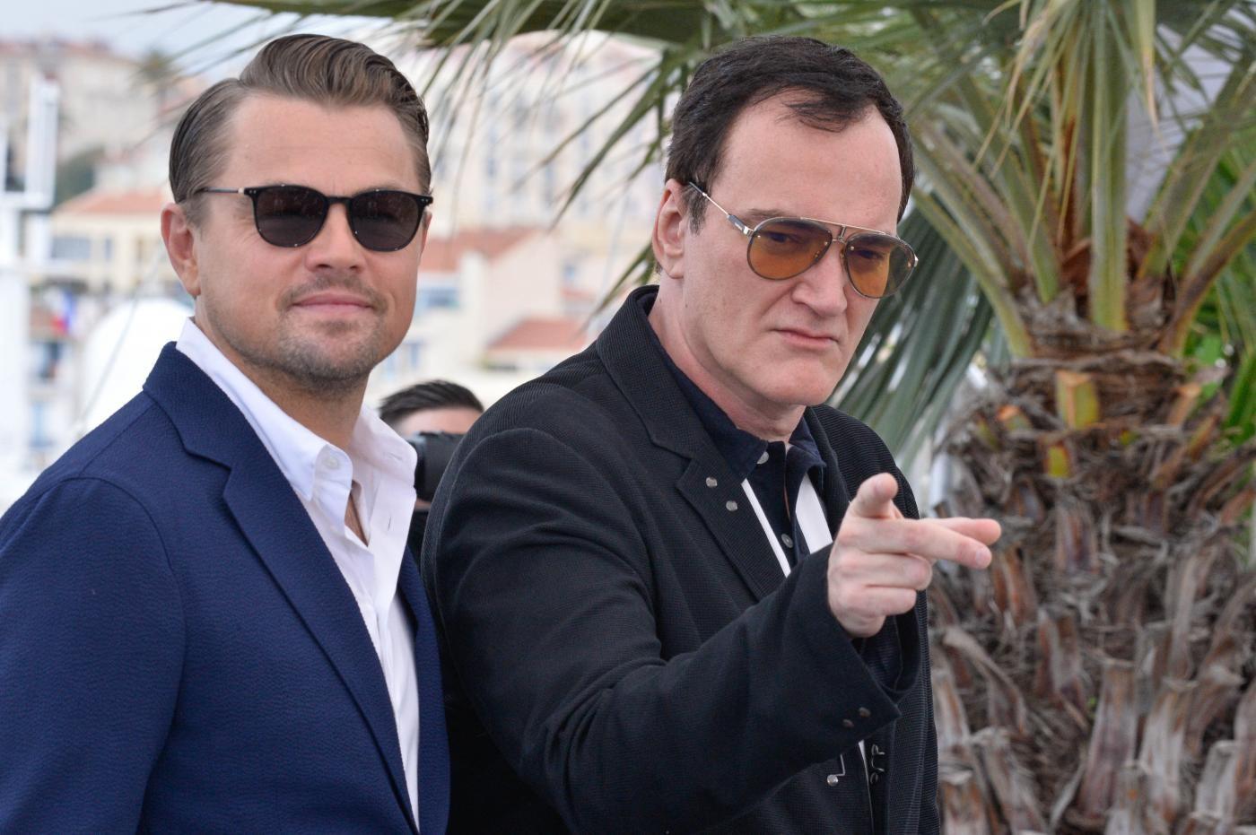 Cannes, l'omaggio al cinema di Tarantino con DiCaprio e Brad Pitt