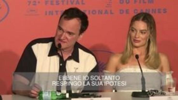 Cannes: la giornalista critica Tarantino, lui la fulmina