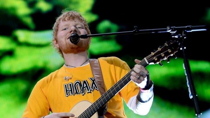 Ed Sheeran: a luglio nuovo disco a sorpresa. L'annuncio su Instagram
