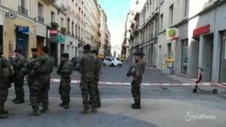 Esplosione a Lione, il luogo dell'attacco