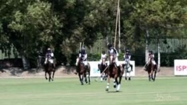 Il principe Harry a Roma: partita a polo per beneficienza