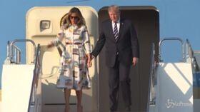 Trump in Giappone per discutere accordi commerciali e Corea del Nord