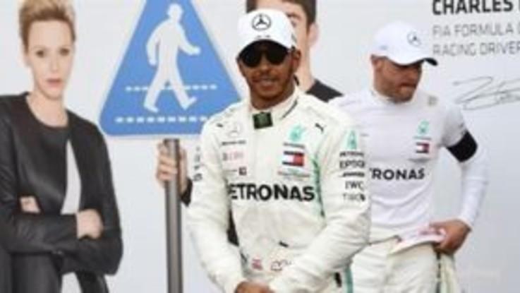 F1, pole di Hamilton al GP di Monaco