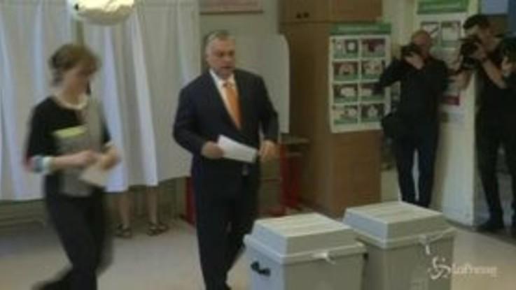 Elezioni Ue, ai seggi il primo ministro ungherese