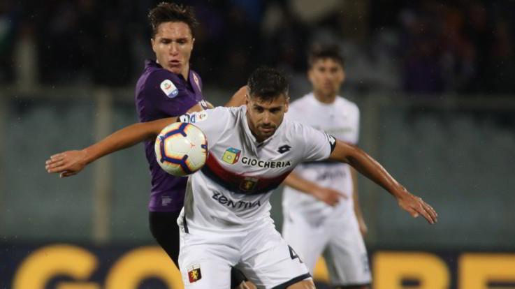 Serie A, Fiorentina e Genoa non si fanno male: reti bianche e salvezza