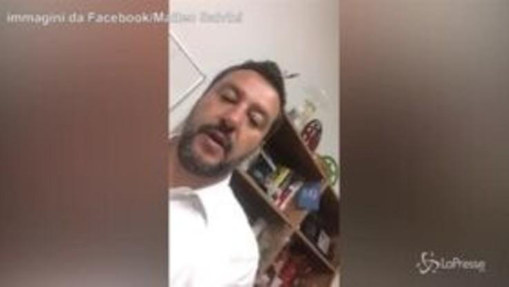 """Europee, Salvini esulta su Facebook: """"Grazie, grazie Italia, ora si cambia"""""""