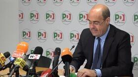 """Governo, Zingaretti: """"M5S muto. Se cade esecutivo, per Pd si va a voto"""""""