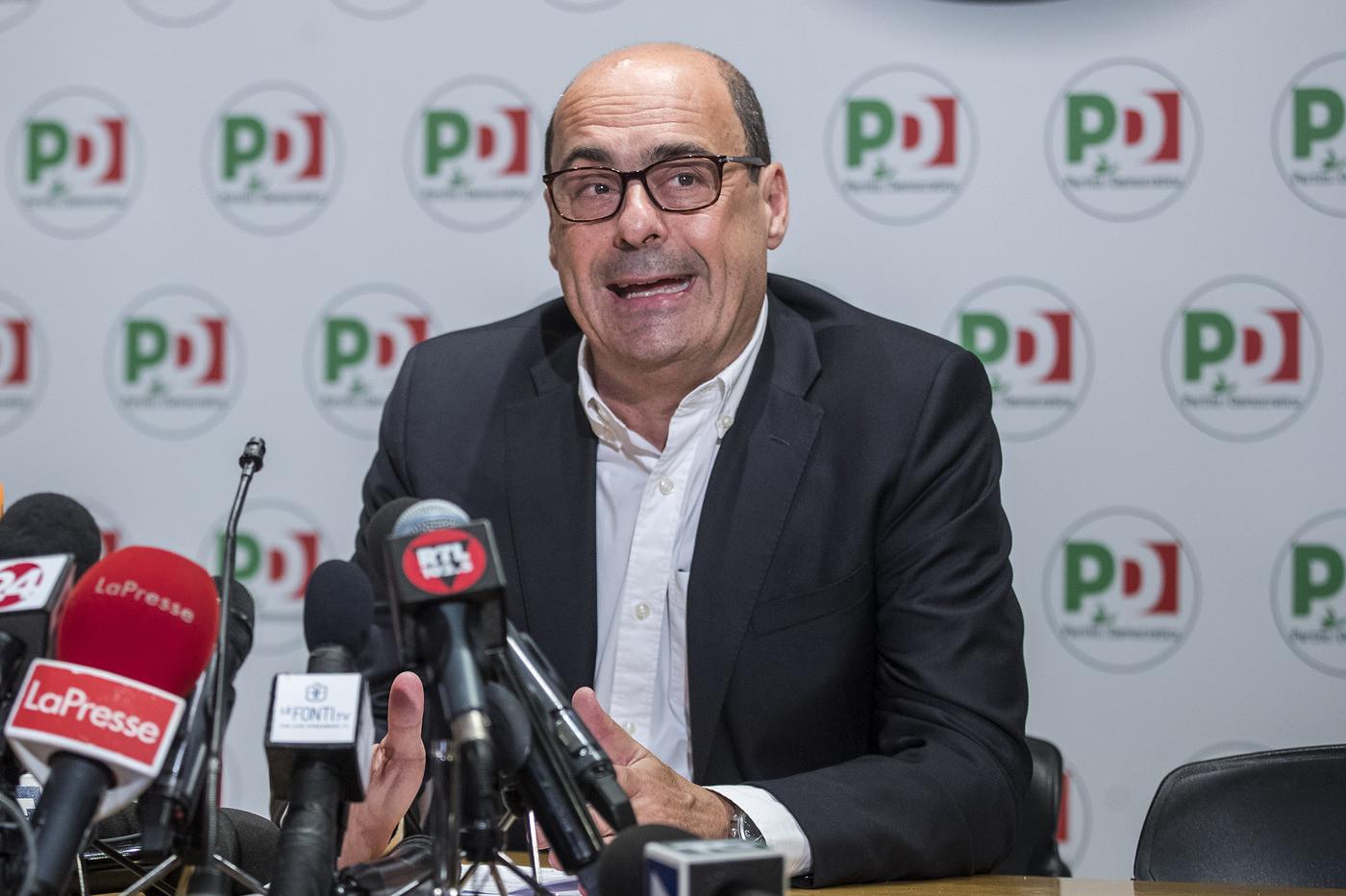 """Zingaretti si gode il sorpasso, ma la minoranza avverte: """"Per vincere caccia ai moderati"""""""