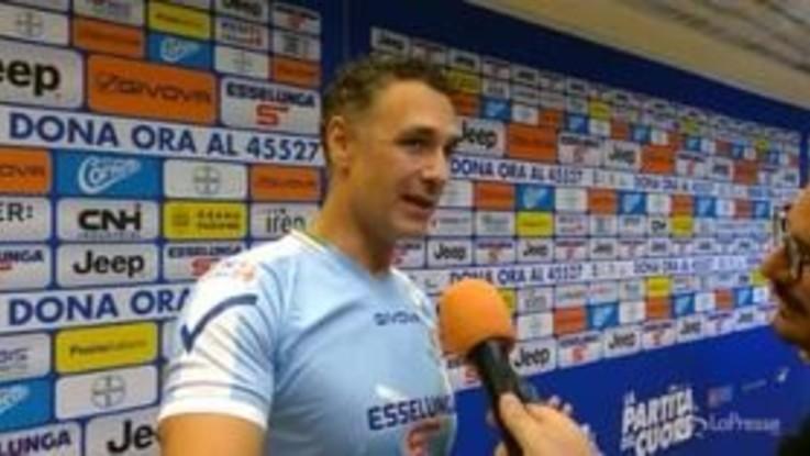 """Raoul Bova: """"L'allenatore della Juve? Squadra importante servirà un grande comandante"""""""