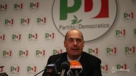 """Pd, Zingaretti: """"Ci batteremo per il ballottaggio, al governo non sono d'accordo su nulla"""""""