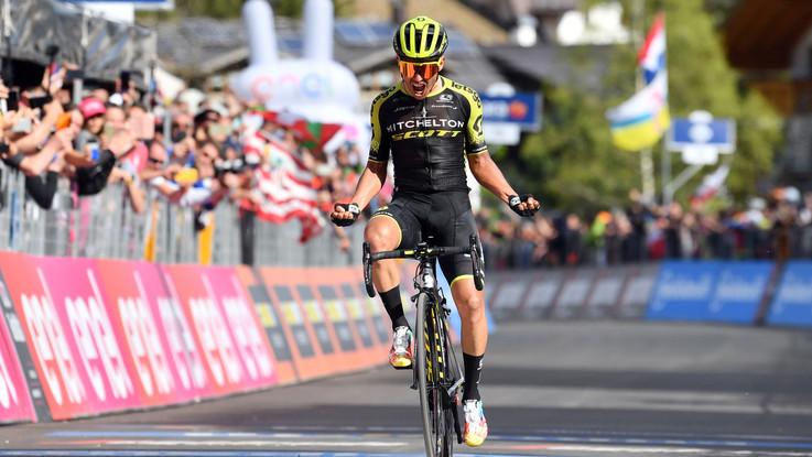 Giro d'Italia, a San Martino di Castrozza vince Chavez. Carapaz sempre in rosa