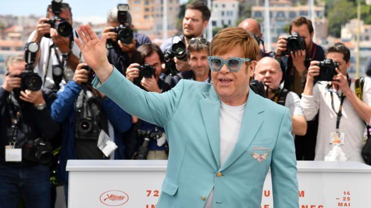 Elton John a Cannes