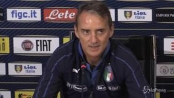 """Nazionale, Mancini: """"Balotelli? Solo una questione tecnica, dipende da lui"""""""