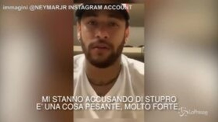 """Neymar si difende dall'accusa di stupro: """"Chiunque mi conosca sa che non lo farei mai"""""""