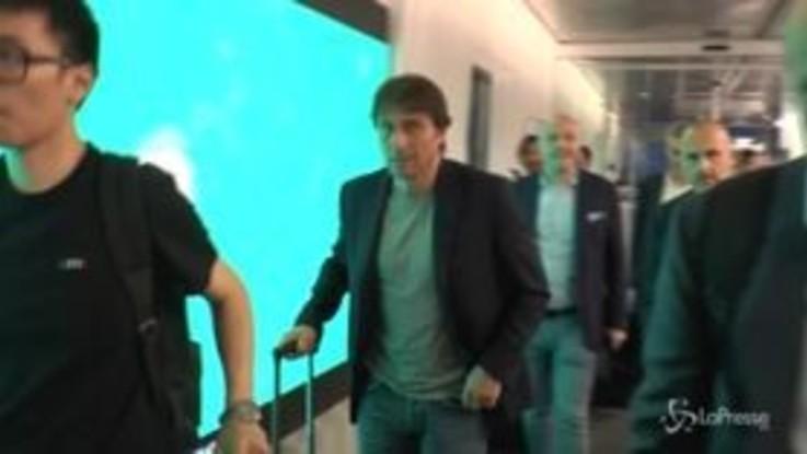 Inter, l'arrivo di Antonio Conte a Milano