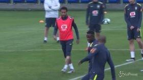 Neymar torna ad allenarsi in Brasile dopo le accuse di stupro