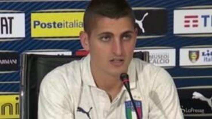"""Nazionale, Verratti: """"Un ritorno di Buffon? Sarebbe un vantaggio per tutti"""""""