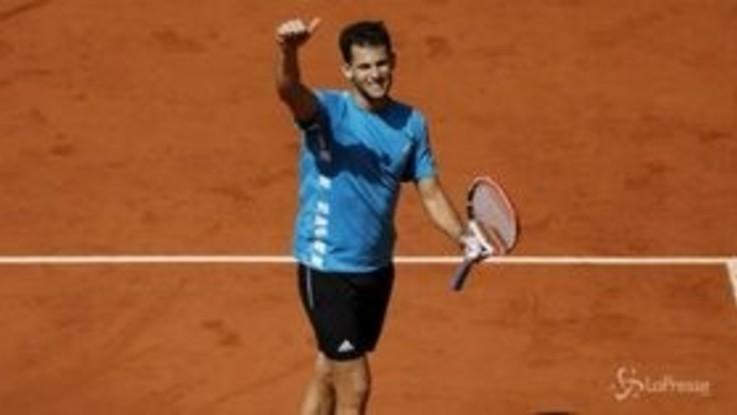 Roland Garros, Thiem vola in finale, Djokovic ko