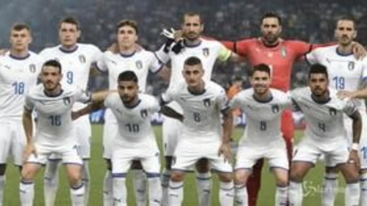 L'Italia di Mancini è bella, in Grecia vittoria per 3-0