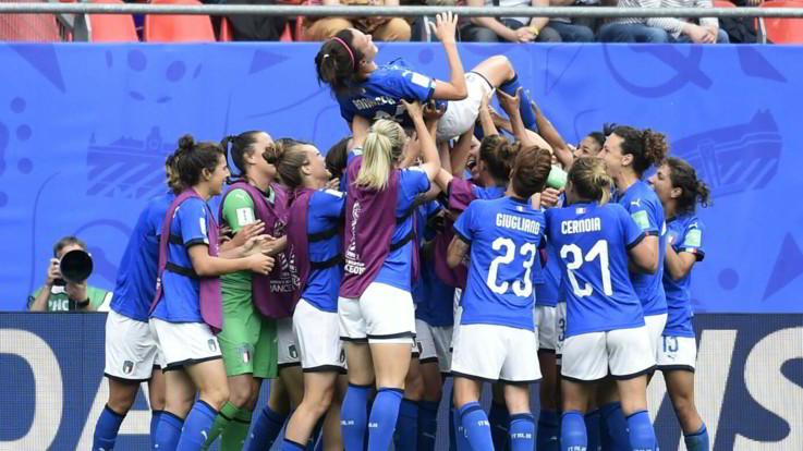 Mondiali femminili, Australia-Italia
