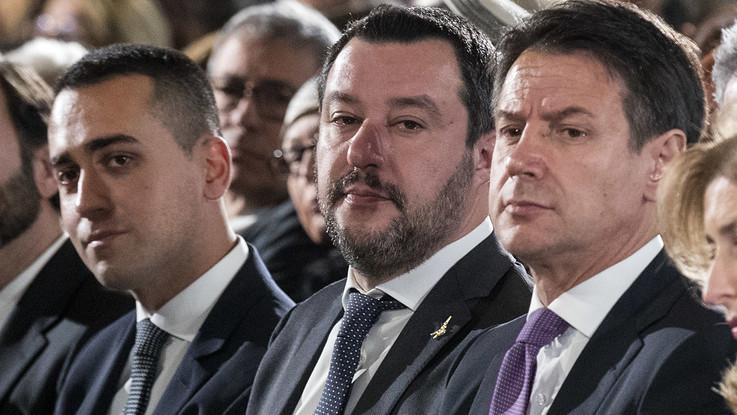 Governo, settimana decisiva tra vertice Conte-Salvini-Di Maio e infrazione Ue