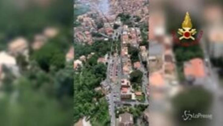 Rocca di Papa, diversi feriti tra cui 3 bambini