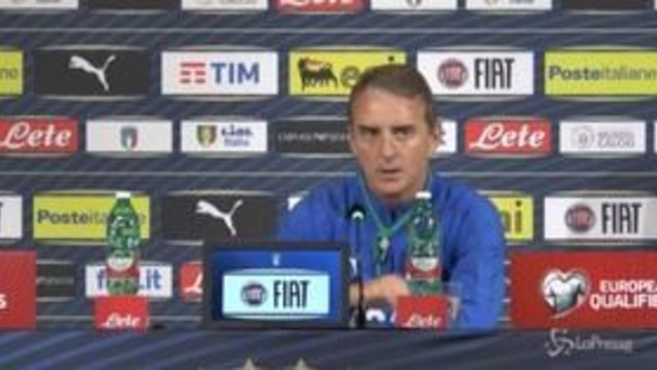 """Nazionale, Mancini: """"Ci vogliono anche i gol degli attaccanti, ma arriveranno"""""""