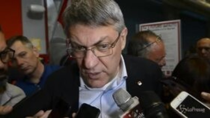 """Cgil, Landini: """"Governo irresponsabile, esca dalla campagna elettorale"""""""
