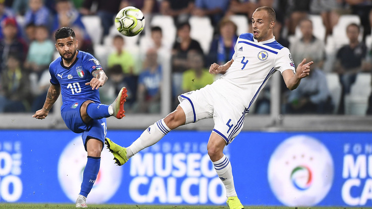Insigne: un gol bellissimo alla Bosnia