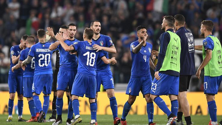 Italia-Bosnia 2-1. Il fotoracconto