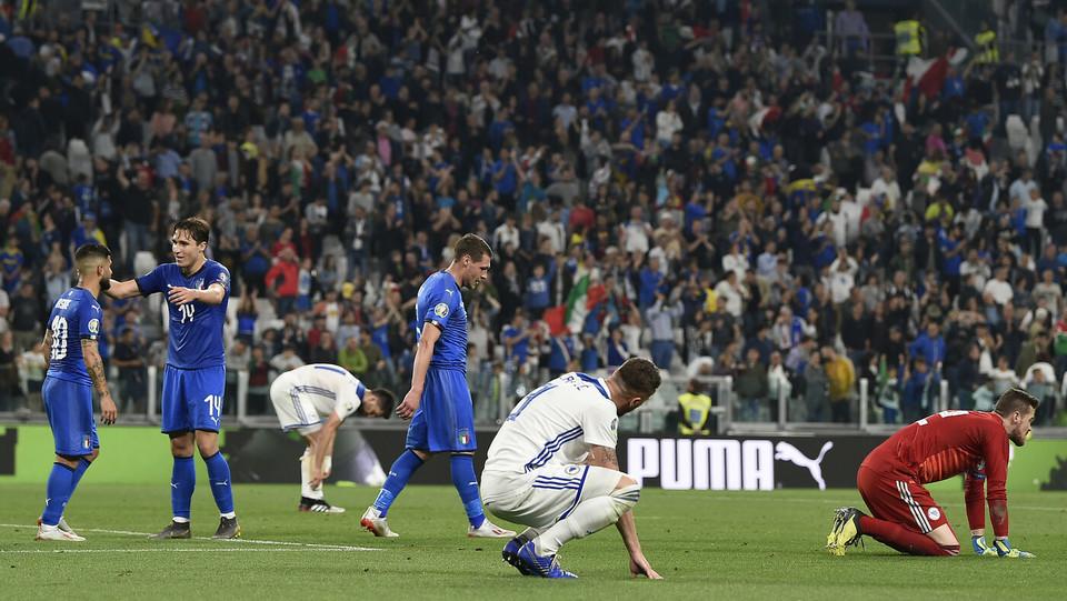 Gioia Italia e tristezza Bosnia ©