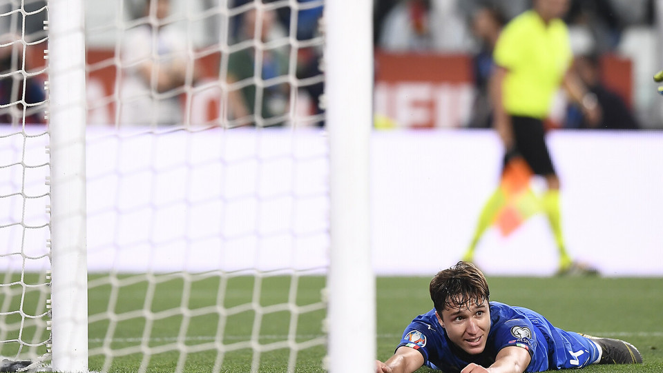 Federico Chiesa, sfiora il gol ©