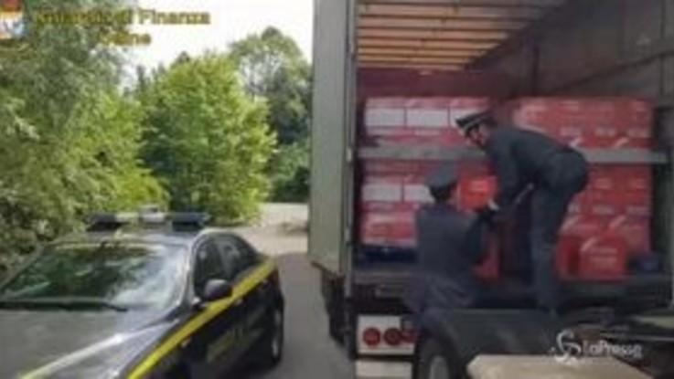 Contrabbandavano alcolici in tutta Europa, arrestate 20 persone