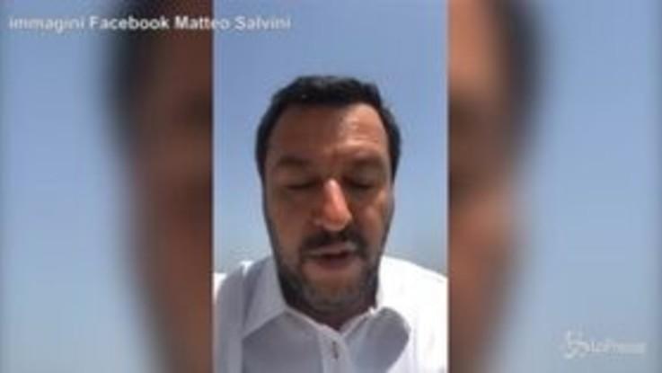 """Salvini risponde a Camilleri: """"Faccio vomitare? Scrivi che ti passa"""""""