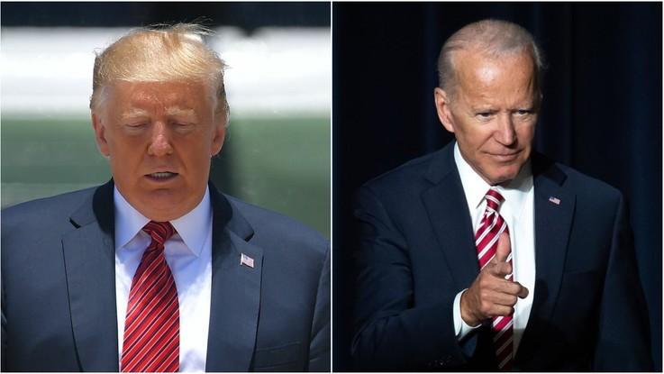 Usa 2020, duello Trump-Biden nei sondaggi: tycoon sotto di 13 punti
