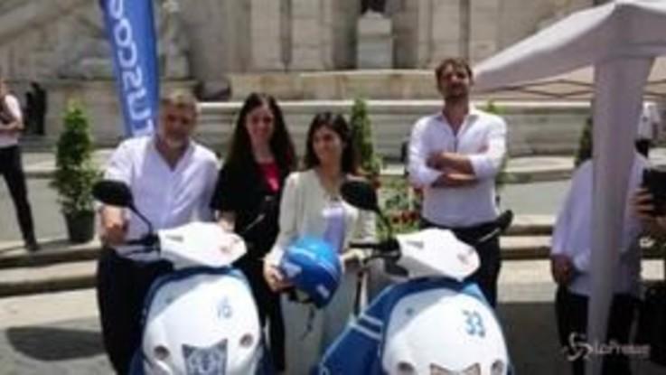 Roma, arriva Cityscoot: 200 scooter elettrici in città