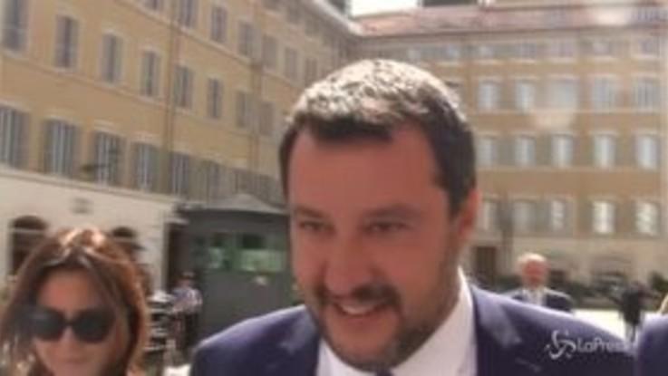"""Ue, Salvini: """"Come evitare la procedura d'infrazione? Con i numeri"""""""