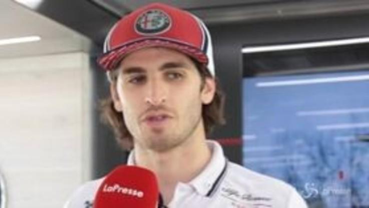 """Giovinazzi sulla penalità a Vettel: """"Dispiace per la Ferrari, purtroppo queste sono le regole"""""""