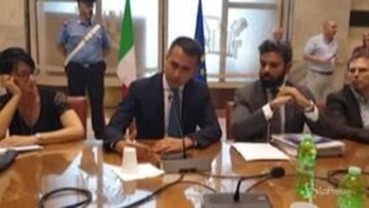 """Crisi Whirlpool, Di Maio: """"Revoca incentivi atto doveroso"""""""