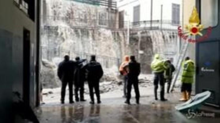 Strade come fiumi: l'emergenza maltempo nel Lecchese