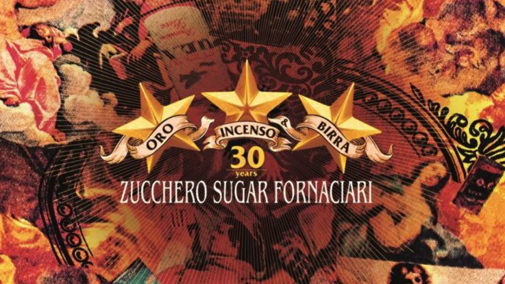 Zucchero, esce 'Oro Incenso & Birra 30th Anniversary' con contenuti speciali