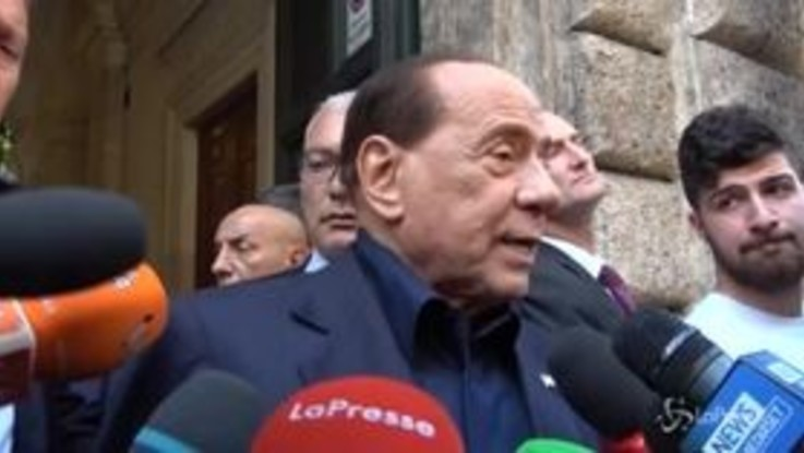 """Giustizia, Berlusconi: """"A Mattarella chiediamo lo scioglimento del Csm"""""""