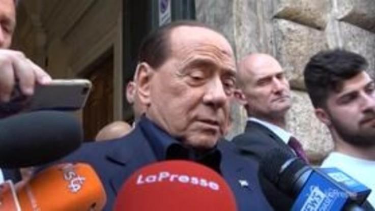"""Governo, Berlusconi: """"Non ricordo situazioni così oscene"""""""